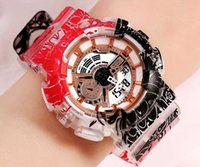 GA110 Sportuhren einteilig Sportuhr digitale LED 3ATM-Beweis S männlich relogios Masculino Armbanduhren