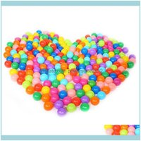 Pool Swimming Sports Outdoorspool & Aessories 100Pcs Colorful Soft Plastic Ocean Water Ball Funny Baby Kid Swim Pit Toy House Outdoors Tents