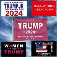 Флаг борьбы со стороны Дональда Трампа в 2024 году снова сохранил баннер на открытом воздухе президентского парада США