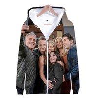 Men's Hoodies & Sweatshirts Friends: The Reunion Hoodie 3D Zipper Sweatshirt Women Men Long Sleeve Harajuku Streetwear Tv Series Fashion Clo