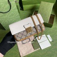 Comparer des produits similaires 2021 nouvelle mode féminin portefeuille de portefeuille sac à main sacs de luxe design de luxe Sacs hommes bandoulière sac avec boîte
