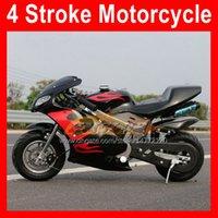 4-Takt-Hot Mini-Motorrad Sport Small-Lokomotive Superbike Moto-Fahrräder Hand Start 49cc 50cc Benzin Motobike Kart Kinder Geschenk Racing Scooter Real Autocycle