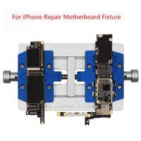 K23 Dual Shaft PCB Soldering Holder For Repair Motherboard Fixture Welding Too Cell Phone Repairing Tools