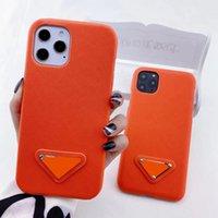 디자이너 패션 전화 케이스 아이폰 12 프로 최대 11 xs 최대 7/8 플러스 PU 가죽 전화 껍질 삼성 S8 S9 S10 + 노트 8 9 20 뒤로