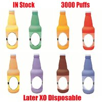 Original Later XO Disposable Pod Device Kit E-cigarette 3000 Puffs 1100mAh Battery 8ml Prefilled Cartridges RGB Light Vape Stick Pen Puff XXL 100% Authentic