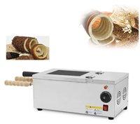 Elektrikli Baca Kek Fırın Makinesi Makinesi, Ekmek Barbekü Makinesi, Baca Dondurma Waffle Makinesi