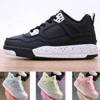 Çocuk 4 Basketbol Ayakkabı Erkek Kız Gençlik Çocuk Spor Çizmeler Sneaker Boyutu 28-35