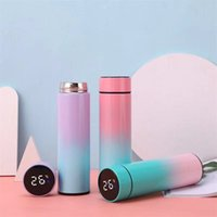 Smart Mug Temperature Display Vacuum Stainless Steel Water Bottle Kettle Thermo Cup With LED Touch Screen