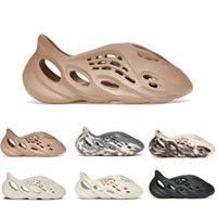 2021 schiuma corridore pantofole crema argilla luna grigia minerale blu uomo sandali da donna ocra aromatico sabbia con scatola