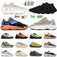 adidas yeezy boost 450 700 380 Con Box 2021 Scarpe da corsa Kanye di alta qualità Bianco nuvola Ardesia scura 700 V2 Crema Kyanite Uomo Donna Scarpe da ginnastica Sneakers Sport