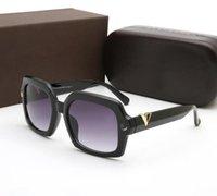 패션 펄 디자이너 선글라스 고품질 브랜드 편광 렌즈 태양 안경 안경 안경 안경 금속 프레임 6868