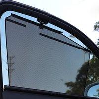 Sunshade de voiture à roulettes pour bébés Enfants Head Back Windows Sun Sun Shade Stores Sunshades Roller Sunshades Soleil pour Audi A3 / A4 / A6 / Q2 / Q3 / Q5 / Q7 avec clip