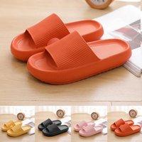 Slippers Women Fashion Summer Non-slip Sandals Shoes Beach Slides High Heels Shower Slipper Soft Sole Men Ladies Bathroom