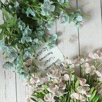 Freesia dançando senhora orquídea imitação de flores fabricantes de casa decoração casamento boquet titular flor artificial flor decorativa grinaldas