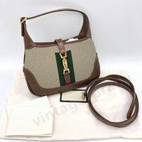 Top Quality Real Leather G Jackie 1961 Donne Cleo Spazzolato Tote Nylon Designer di Prestigio Designer uomo Borsa a tracolla Hobo Crossbody Borse Borse Borse Moda Borsa