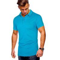 Mens polo camisa marca roupas nova manga curta verão camisa de lazer homem poloshirt homens plus size polo camisas tamanho grande 3xl