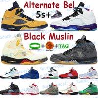 2021 Black Muslin White X Sail Hombres Zapatos de baloncesto 5 5s Zapatillas de deporte Pink Foam Grey Lo que los 3 mejores entrenadores de deportes de Bel Sports Sports Sports.