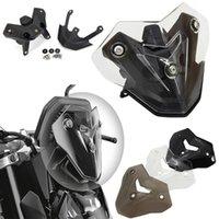 الدواسات ل F900R F 900R F900 ص دراجة نارية الملحقات الزجاج الأمامي الزجاج الأمامي Viser Baffle Visor Winds