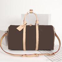 Mens Duffle Bolsa Mulheres Sacos Sacos Bagagem Mão Luxo Designer Sacos de Viagem Homens Pastas Bolsas Grande Cruz Body 41418