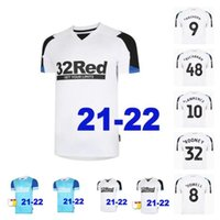 21 22 Derby County Soccer Jersey Rooney 2021 2022 Away Jerseys Lawrence Bogle Waghorn Maillot De Football Shirt Bielik Top Tailandia Calidad
