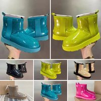 Top Qualität Wasserdichte Australische Schneeschuhe Schuhe Mittelrohr Mode Warme Frauen Baumwolle Bowknot Bohrer Schneeschuh Größe 35-40