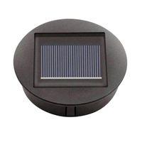 حبات خفيفة مربع البطارية الشمسية أضواء الذكية الإلكترونية الحديد المطاوع الأسود الحديد فانوس شاحن الجملة الوصول N3B1