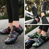 Cycling Footwear Summer MTB Shoes Men Sports Route Cleat Road Dirt Bike Speed Flat Sneaker Racing Women Bicycle Mountain Spd Biking 2021