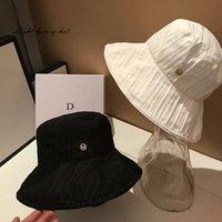 2021 Kova Şapka Kadınlar Için Moda Klasik Tasarımcı Tatil Plaj Güneş Şapkaları Sonbahar Bahar Balıkçı Şapka Sun Caps Gemi Ücretsiz