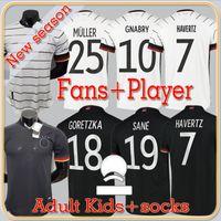 المشجعون لاعب النسخة 20 21 ألمانيا كرة القدم الفانيلة غوندوجان غنابي فيرنر كروس 2021 كيميش مايلوت دي القدم لكرة القدم سان جوريتزكا يمكن أن havertz مولر الرجال + الاطفال
