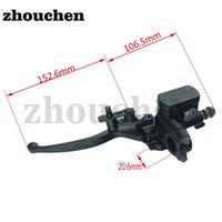 Motorcycle Brakes Universal Alloy Brake Lever ATV Left Side Hydraulic Master Cylinder For 50cc-250cc Quad DS-146