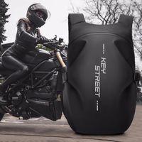 Backpack Full Face Female High-capacity Motorcycle Rider Bag Waterproof Travel Male Riding Helmet