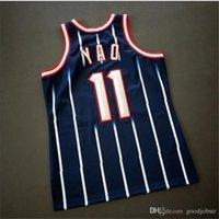 668668Custom homens juventude mulheres vintage yao ming mitchell ness 02 03 colégio basquete jersey tamanho s-4xl ou personalizado qualquer nome ou número jersey