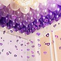 100 stücke baby geburtstag banquet dekoration regen seide pailletten anhänger hochzeitsraum dekoration ballon regen seide anhänger 2164 v2