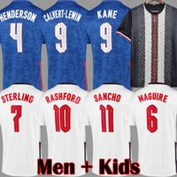 Men kids kits SANCHO RASHFORD soccer jersey E 2021 STERLING ...