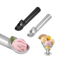 أدوات الآيس كريم الألومنيوم سبائك ملعقة غير عصا المضادة للعريس سكوب الرئيسية مطبخ الملحقات