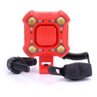 Bike Lights USB Charging Horn Lamp 1200mAh Electric Waterproof Sound Alarm Safety Bicycle Bell
