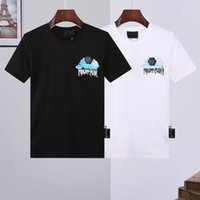 PP Phillip Простые футболки череп футболки мужские футболки роскошные футболки