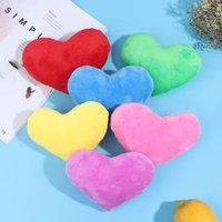 Cushion Decorative Pillow 15CM Heart Shape Decorative Throw PP Cotton Soft Creative Doll Lover Gift