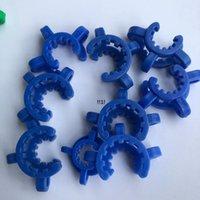 Délicat 10mm 14mm 18mm Coup de plastique KMM avec clip de pince de laboratoire en plastique coloré pour verre BONG EWC6875