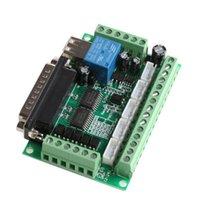 Circuitos integrados 5 Axis CNC BreakOut Board con acoplador óptico para el motor paso a paso MACH3 DROPARTE OCT30