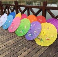 NeweDults الصينية اليدوية النسيج مظلة أزياء السفر الحلوى اللون الشرقية المظلة مظلات الزفاف حزب الديكور أدوات EWA6488