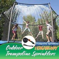 Trampoline Sprinkler Summer Water Outdoor Garden Games Toy Sprayer Backyard Park Accessories Fun For Kids Watering Equipments