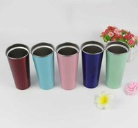 Tumblers 17oz Tumbler Cups Wine Glasses Double Wall 304 Stainless Steel Vacuum Insulated Mugs Beer Thermos Travel Flask Mug 2JDB FO3Z