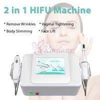 2 IN 1 Vaginal Skin Tightening HIFU Body Slimming Lifting Women Private Health Care Salon Beauty Machine
