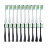 استبدال رؤساء الفرشاة ل OCLEAN X / X PRO / Z1 / F1 / ONE / AIR 2 / SE سونيك فرشاة أسنان كهربائية ناعمة ناعمة مزدوجة