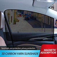 Car Sunshade Sun Shades For Side And Rear Window (4 Pack) - Protector Protect Your Kids Pets In The Back Seat From