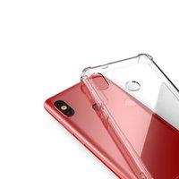 500 adet Temizle Hava Yastık Darbeye Kılıf Xiaomi Mi 9 8 SE Lite Not Max 3 Oyun Yumuşak TPU Çerçeve Sert Akrilik Koruma Kapak