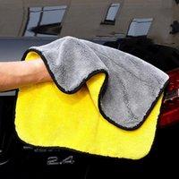 Asciugamano Asciugamano Automobile Pulizia in microfibra Corallo in velluto in velluto a doppia lati Assorbente ad alta densità