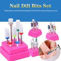 Nail Art Equipment Milling Cutter For Manicure Set Ceramic Drill Bits Electric Machine Pedicure Mill Cutters Corn Corundum
