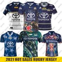 2021 North Queensland Cowboys 성인 슈퍼 럭비 저지 셔츠 키트 Maillot Camiseta Maglia Tops S-5XL TRIKOT CAMISAS